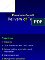 Delivery of Twins