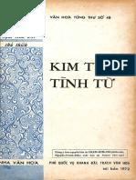 (1972) Kim Tuý Tình Từ - Nguyễn Du - Phạm Kim Chi Chú Giải