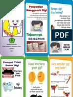 Leaflet Gosok Gigi