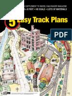 5 Easy Track Plans