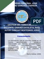 Presentación Gestión Del Conocimiento Ciencias Mención Gerencia (1)