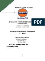 i0c Training Report