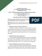 4. Format Artikel Jurnal PengMas STIK