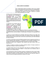 Africa Aspecto Económico