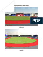 Proposed Provincial Sports Complex