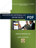 Manual de Aprendizaje Excel Contable