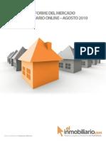 Informe Del Mercado rio Online Agosto 2010