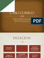 CASO CLINICO CRANEOSINOSTOSIS.pptx