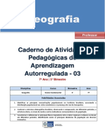 Geografia Regular Professor Autoregulada 7a 3b
