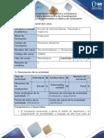 Guía de Actividades y Rubrica de Evaluación - Paso 3 Solucionar Los Circuitos y Avances Del Proyecto.