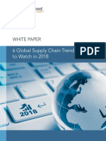 6 Global Supply Chain Trends to Watch in 2018