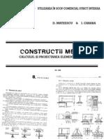 Constructii Metalice - D.Mateescu