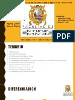 Expo. Diferenciación _ Organización y Administración