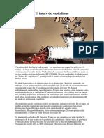 Resumen, Laster Thurow, El Futuro Del Capitalismo - UBA - CBC - Sociedad y Estado