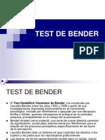 Test Gestaltico Visomotor de Bender