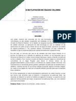 Tecnología de Flotación en Celdas Columna Para La Flotación de Minerales...