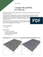 CSI Portugal _ Aplicação de Cargas de Painéis Distribuídas Em Barras