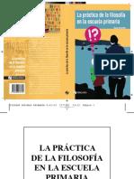 Brenifier Oscar - La Practica De La Filosofia En La Escuela Primaria.pdf