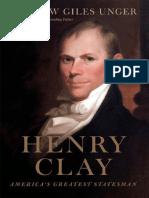 Henry Clay America s Greatest Statesman