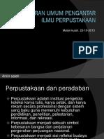 A. Gambaran Ilmu & Prpustakaan