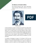 Eduardo Abaroa y La Invasión Chilena