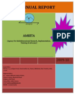 Annual Report 2009 10 AMRITA