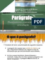 Parágrafo - Planejamento, Estruturação e Articulação (25!04!2017)