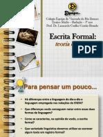 Escrita Formal