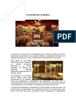 Caso Restaurante Mexicano
