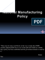 nationalmanufacturingpolicy-120303185940-phpapp01
