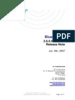 IVT BlueSoleil 2.6.0.9 070606 Release Note