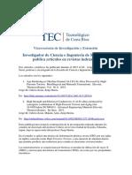 Articulos Para El Trabajo de Procesos Industriales