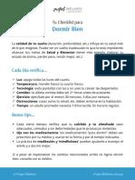 Dormir Bien - Project Wellness - FREE