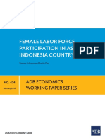ADB Report on Female Labor Participation