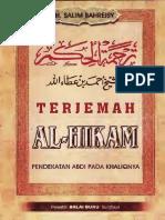 TerjemahAlHikam Text
