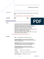 Sample EBS Technical_Resume