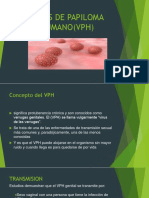 Virus de Papiloma Humano(Vph)