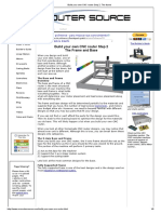 Build Your Own CNC Router Step 2_ the Frame