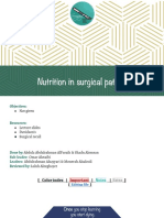 6- Nutrition in Surgical Patients