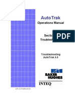 AutoTrak Operations Manual - Section 5 - Troubleshooting AutoTrak 3.0