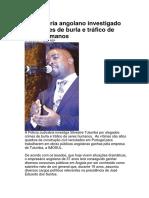 Empresária angolano investigado por crimes de burla e tráfico de seres humanos