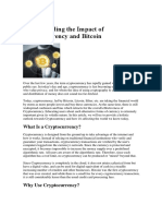 Understanding the Impact of Cryptocurrency and Bitcoin