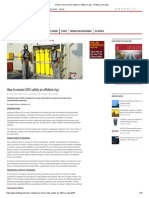 How to Ensure H2S Safety on Offshore Rigs - Drilling Contractor