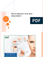 High Therapy for Skin Treatment