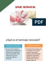 Tamizaje Neonatal
