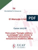 El mensaje cristiano, guía académica 2017-2018.doc
