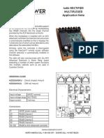 4x64 Multiplexer An