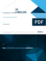3D Printing of Molds