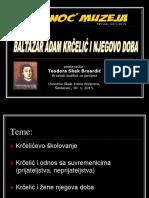 Baltazar Adam Krcelic i njegovo doba