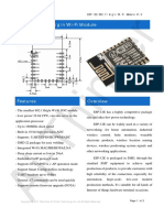 a013ps01a0 Esp-12e Product Specification v1.0